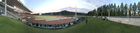 レノファ山口対松本山雅FC