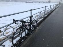 ロードバイク冬